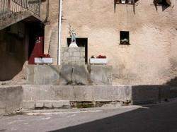 Fontaine Jeanne d'Arc – Soleilhas