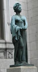 Statue de Marianne ou la République – Montréal