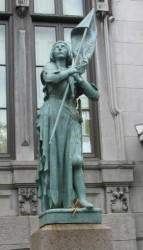 Statue de Jeanne d'Arc – Montréal