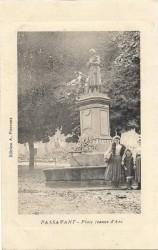 Fontaine Jeanne d'Arc – Passavant-la-Rochère