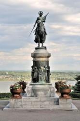 Monument à Jeanne d'Arc – parc de Sillery – Québec