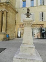Buste d' Antoine Blaise Crousillat  – Salon-de-Provence