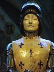 Statue Jeanne d'Arc – Cathédrale – Reims