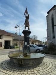 Fontaine Jeanne d'Arc – Maxey-sur-Meuse