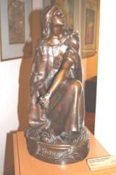 Jeanne d'Arc en bergère (Signoret-Ledieu Lucie) – Musée – Vaucouleurs