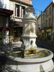Mascarons – Fontaine du Puits du mouton – Salon-de-Provence