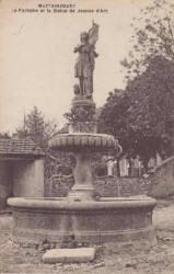 Fontaine Jeanne d'Arc – Mattaincourt