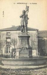 Fontaine Jeanne d'Arc – Médonville