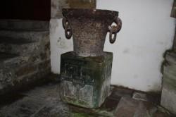 Bénitiers -Eglise –  Doulevant-le-Château
