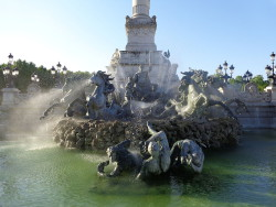 Le Triomphe de la République – décor – Monument aux Girondins – Bordeaux