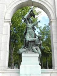 Monument aux morts de 1870 – La République et le mobile – Chartres
