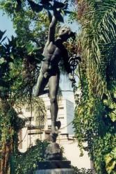 Statue le Mercure- Palais de Laranjeiras – Estatua o Mercúrio – Palácio de Laranjeiras. Rio de Janeiro