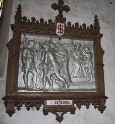 Chemin de croix – Eglise – Ancerville