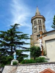 Vierge – Christ en croix – Mirabel