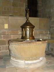 Fonts baptismaux – Collégiale Saint-Martin – Brive-la-Gaillarde
