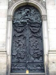 Portes de l'église de la Candelaria – Igrejia Nossa Senhora da Candelária- Rio de Janeiro