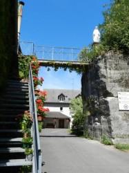 Vierge Immaculée – Passerelle – Grottes de Saint-Antoine – Brive-la-Gaillarde