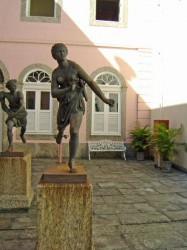 Atalante et Hippomène  du Palais de l´Itamaraty – A Atalanta e O Hippômenes do Palácio do Itamaraty – Rio de Janeiro