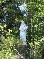 Vierge à l'Enfant – Jardin des frères – Grottes de Saint-Antoine – Brive-la-Gaillarde