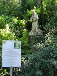 Statue de Pascal Baylon – Grottes de Saint-Antoine – Brive-la-Gaillarde