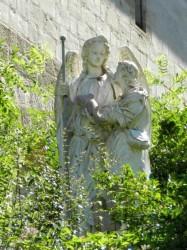 L'archange Raphaël et Tobie – Grottes de Saint-Antoine – Brive-la-Gaillarde