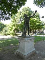 Gladiateur Borghèse – Parc d'Avroy – Liège