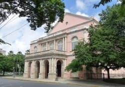 Candélabres l'Aurore et le Crépuscule du théâtre Santa Isabel – Recife