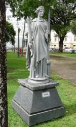 Thémis – Temis  (La Justice) Place de la République – Recife