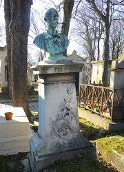 Buste d'Auguste Vitu – Cimetière du Père-Lachaise – Paris (75020)
