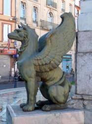 Griffons – Monument au général Dupuy – Toulouse
