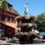 Fontaine avec statue Le Printemps - Place Maréchal Foch - Sainte-Marie-aux-Mines - Image1