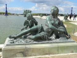 Le Loiret – Parterre d'eau – Bassin Sud –  Jardins du château – Versailles
