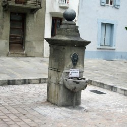 Fontaine de la place Saint-Vincent – Foix
