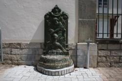 Fontaine d'applique – Bourbonne-les-Bains