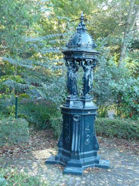Fontaine wallace jardin des plantes toulouse for Fontaine de jardin truffaut