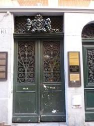 Décor de porte –  rue de la Trinité – Toulouse