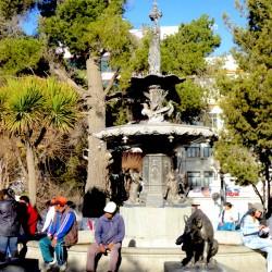 Gran fuente – grande fontaine –  Oruro