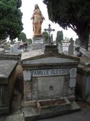 Vierge – sépulture – Cimetière de Terre Cabade – Toulouse
