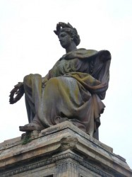 Monument à Auguste Toulza – statue – Cimetière de Terre Cabade – Toulouse