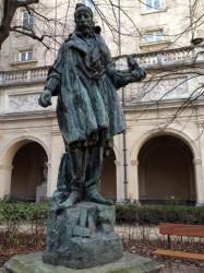 Carpeaux au travail – Jardin du musée des beaux-arts – Lyon