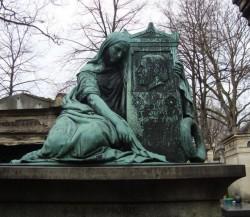 Tombe de Léon Philippe Béclard  – cimetière du Père Lachaise – Paris