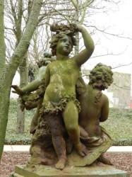 Enfants – groupe de Versailles – ancien jardin royal – Ostende (2)