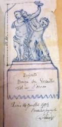 Enfants – groupe de Versailles – ancien jardin royal – Ostende (disparus) (1)