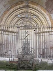 Croix et grilles de choeur, abbaye Saint Michel – Gaillac