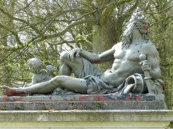 Ensemble de statues – Domaine des Trois Fontaines – Vilvorde