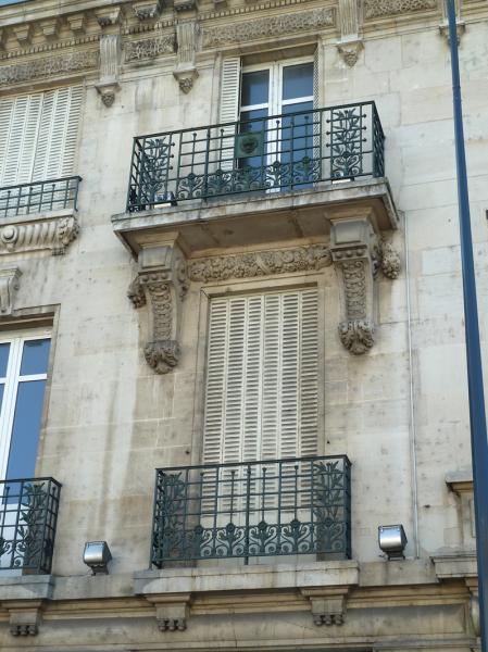Balcons place thiers pont mousson for Architecte pont a mousson