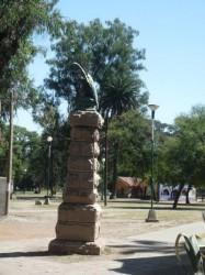 Aigle – Musée des Sciences naturelles – Museo de Ciencias Naturales – Plaza San Martin – Salta