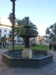 Vasque fontaine aux hérons – Plaza Belgrano – Salta