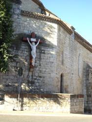 Christ – Chevet de l'église – Vazerac