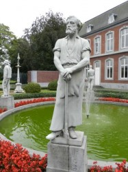 Ensemble de statues – Château Cockerill – Seraing
